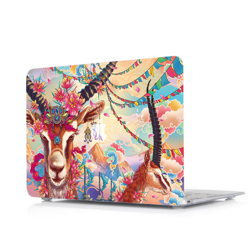 Stylish Print Pattern Case for MacBook 14