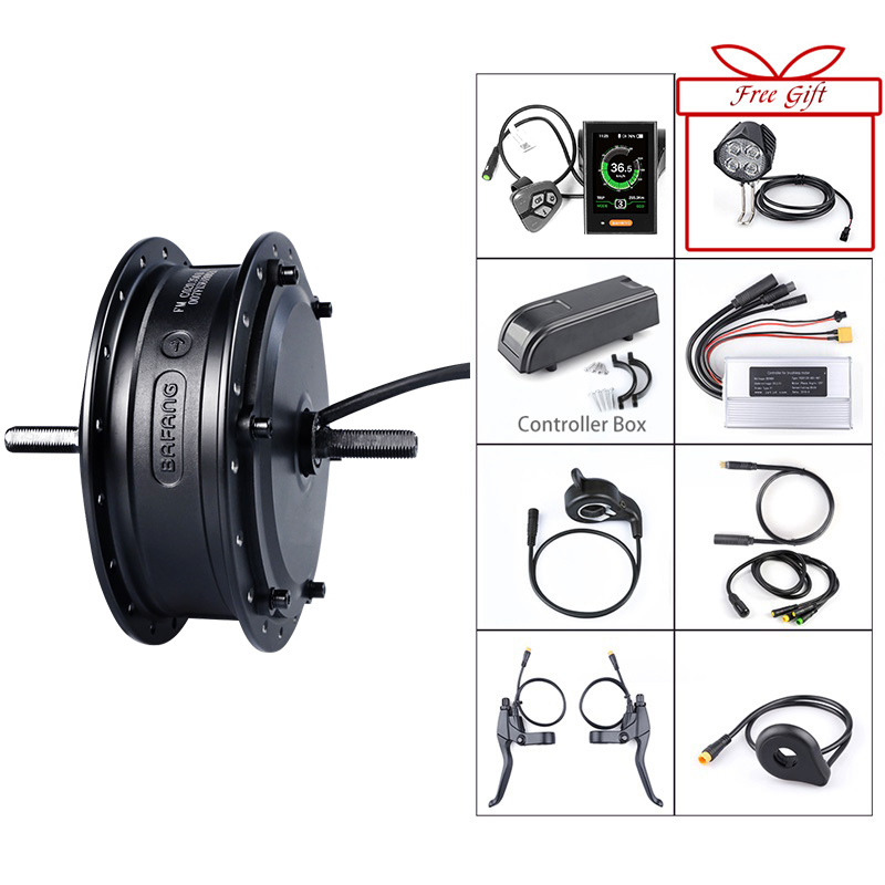 Bafang 48V Electric Bicycle 500W Front Motor 35km h Brushless Hub Electric Bicycle Cycling Engine Conversion