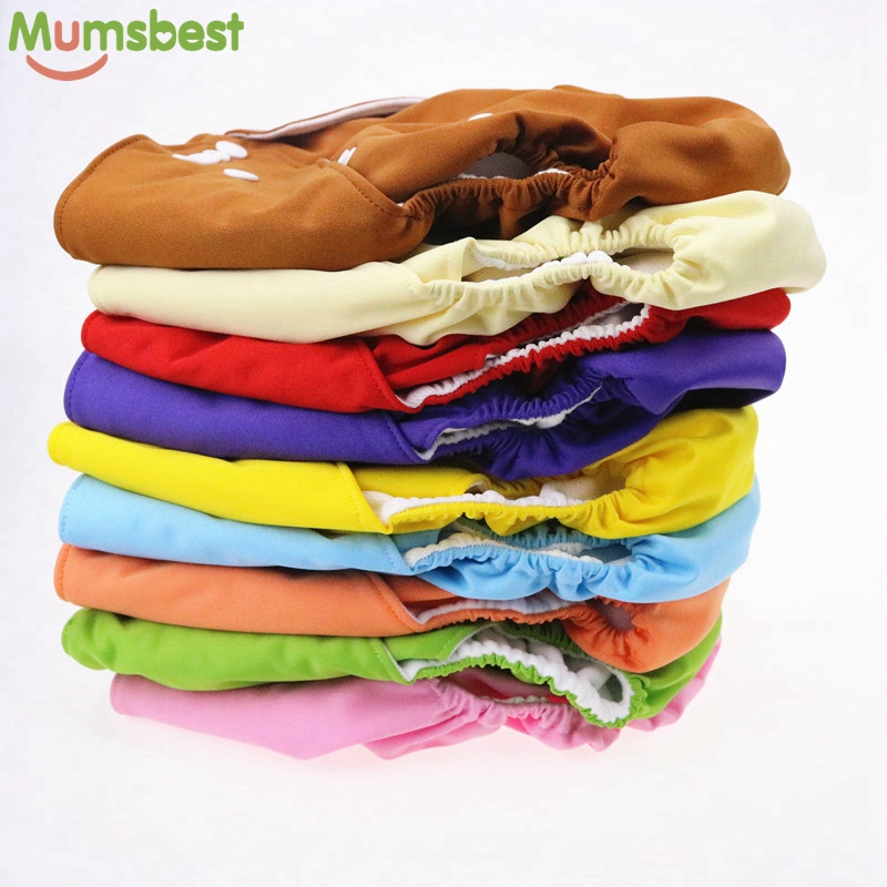 [Mumsbest] Big Size Children Cloth nappies With Microfiber Insert Child Pocket Diaper Reusable Cloth diapers For 2-6 Years Old [mumsbest] 4pcs baby pocket diapers with microfiber inserts reusable nappies waterproof boy