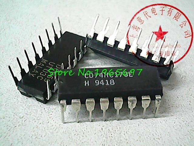25pcs/lot 74HC173 74LS173 MC74HC173N CD74HC173E DIP-16 In Stock