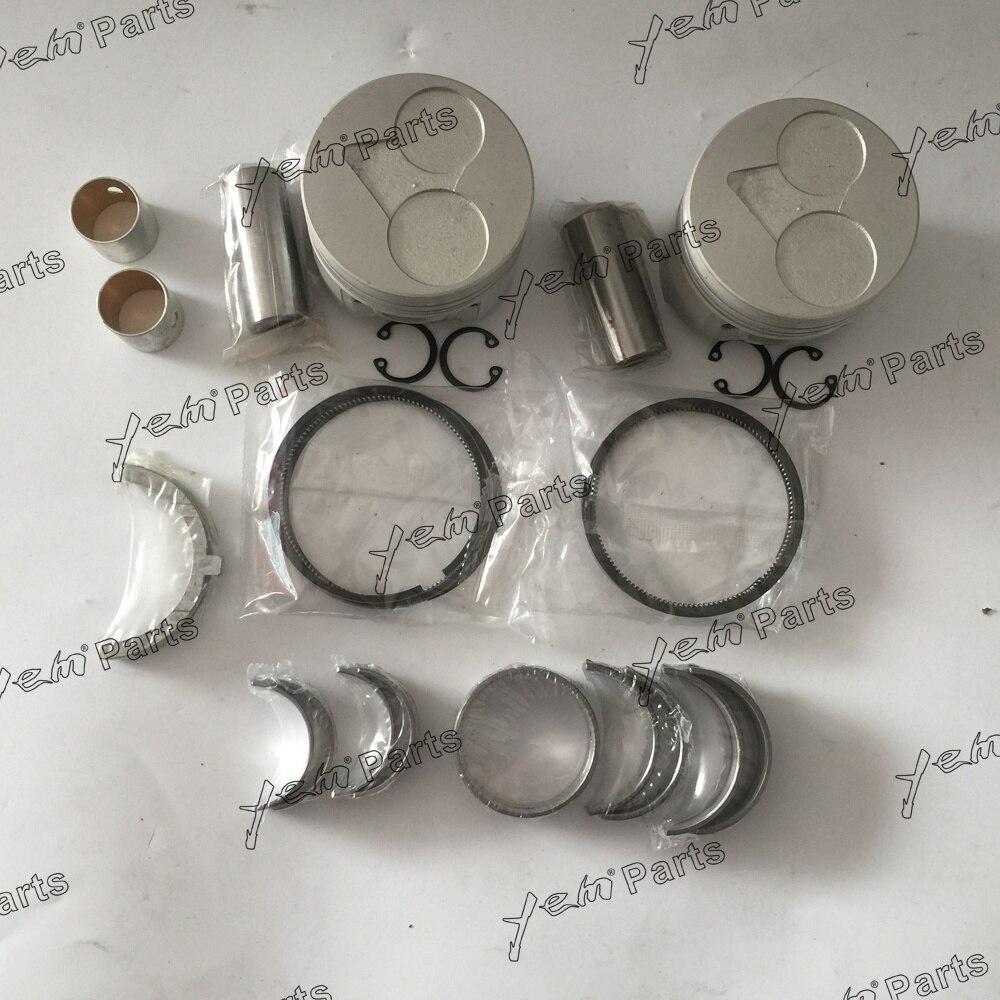 US $275 0 |Z482 Overhaul Kit With Piston,Piston Ring,Bushing,Engine  Bearing,Thrust Washer For Kubota Engine on Aliexpress com | Alibaba Group