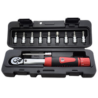 1Set 1/4 Inch Dr 2 14Nm Bike Torque Wrench Set Bicycle Repair Tools Kit Ratchet Machanical Torque Spanner Manual Torque Wrench