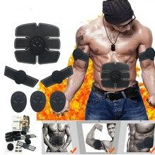 Wireless Muscle Stimulator EMS Stimulation Body Slimming Beauty Machine Abdominal Exerciser Training Device Massager