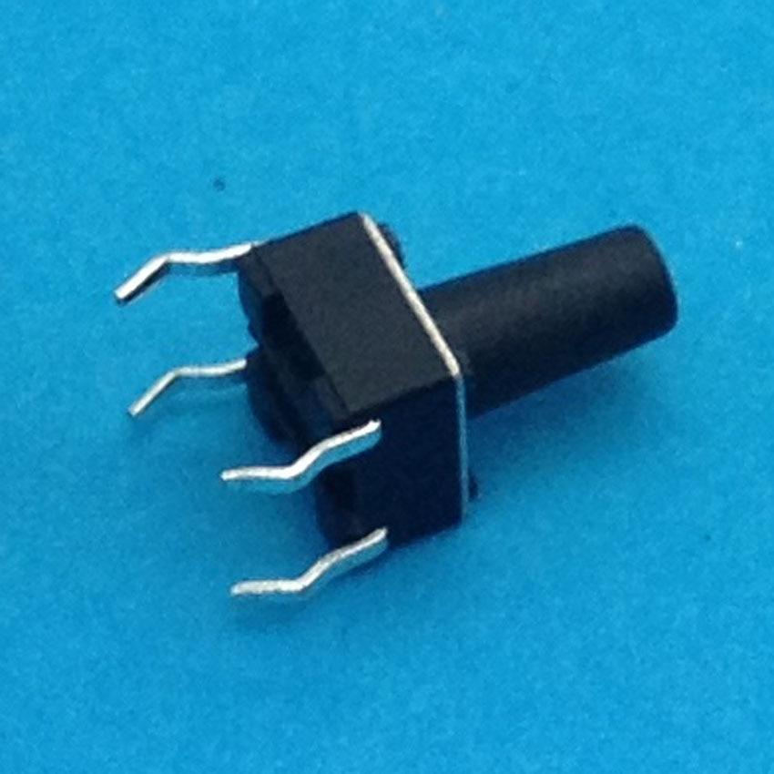 6X6X10 DIP тактильный Такт Мини кнопочный переключатель Микро Переключатель мгновенный