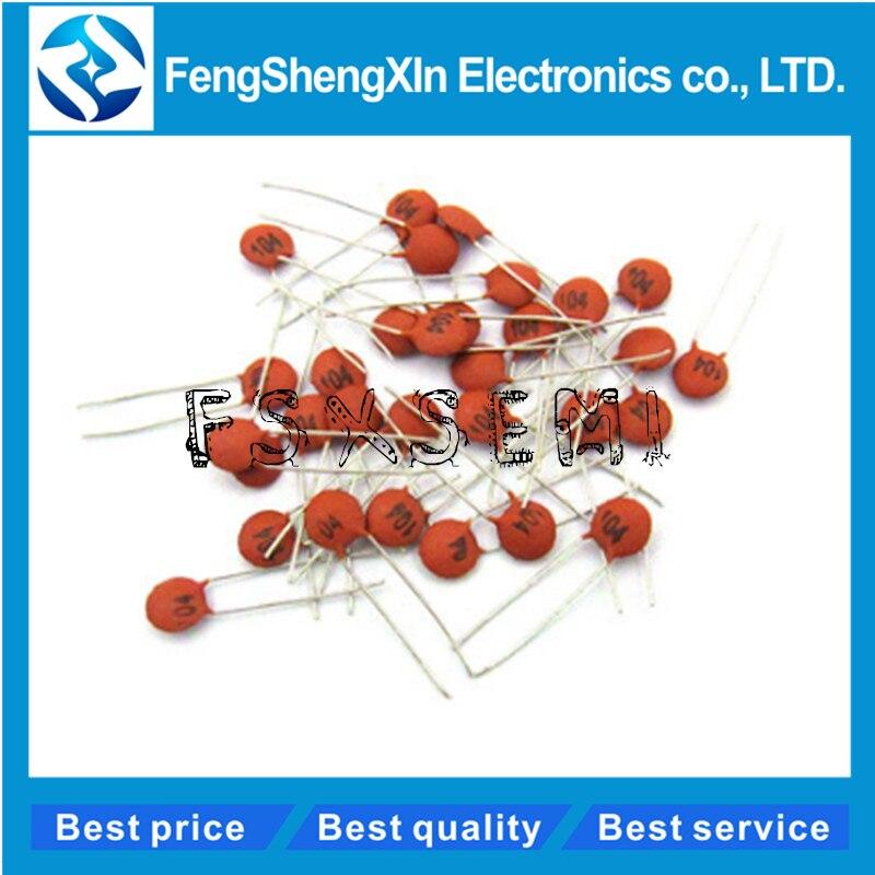 1000PCS Multilayer ceramic capacitor X7R 47nF 0.047uF 473 50V 2.54mm ±10/%