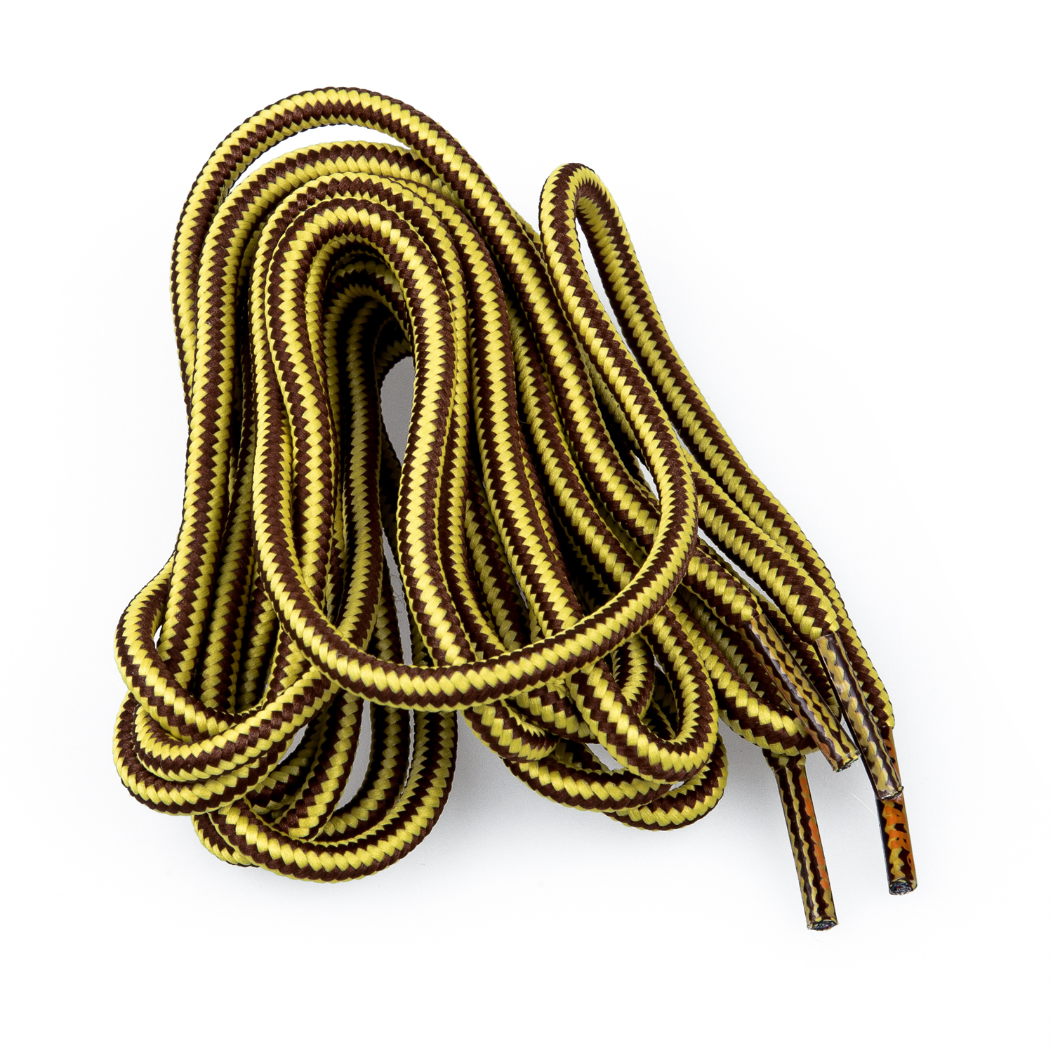 RAN 1 pair 152 cm Sustainable High Resistance Laces for  Shoes - Cinnamon Stripes