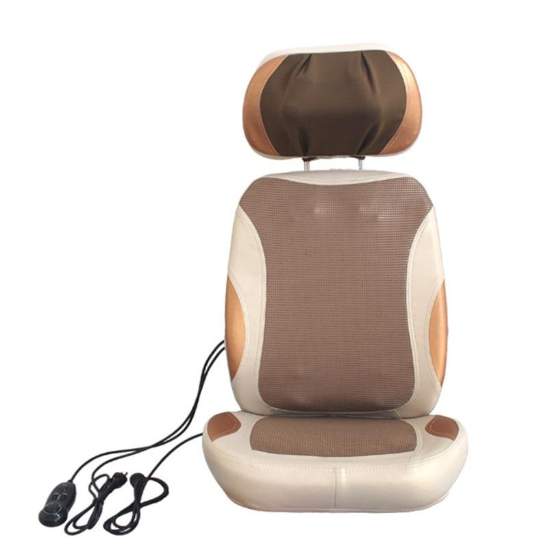 Massage Cushion Cervical Massager Neck Waist Shoulder Multi-function Cushion Body Massage Home 3D Robot Kneading Open Back