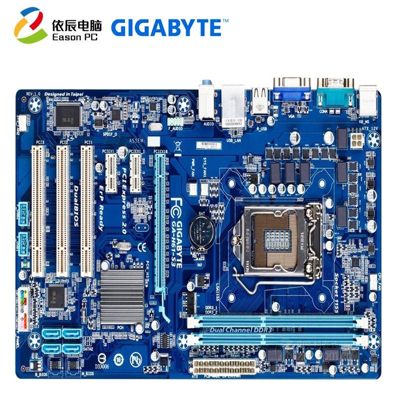 GIGABYTE GA-H61-S3 LGA1155 DDR3 i3 i5 i7 ATX