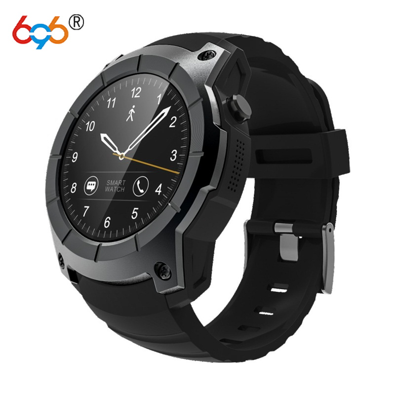 696 GPS Smart Watch S958 Pedometer Fitness Tracker Heart Rate Monitor Smartwatch Sports Waterproof Watch Support SIM TF Card smartch s958 smart watch sport waterproof heart rate monitor gps 2g sim card calling all compatible smartwatch for android ios c