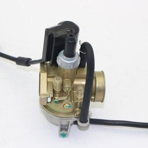 Image 2 - 1 Pcs 17mm קרבורטור פחמימות אלומיניום סגסוגת עבור עבור הונדה SA50 SK50 SYM 2 שבץ מנוע קטנוע אופני עפר וכו ללבוש התנגדות