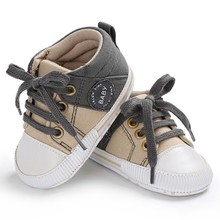 Baby Shoes Classic Canvas Baby Boy Shoes Spring Cotton Strap
