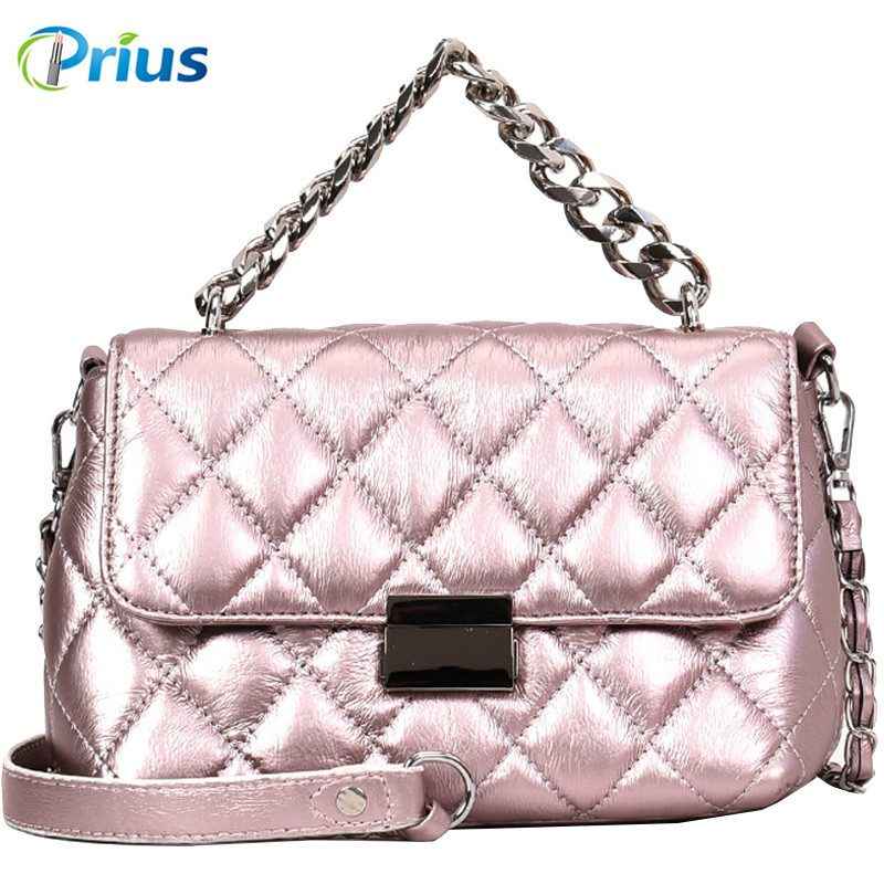 Fashion Diamond Lattice Chain Bag Flap Women Shoulder Bag Solid Crossbody High Quality PU Leather Messenger Bags louis gg bag