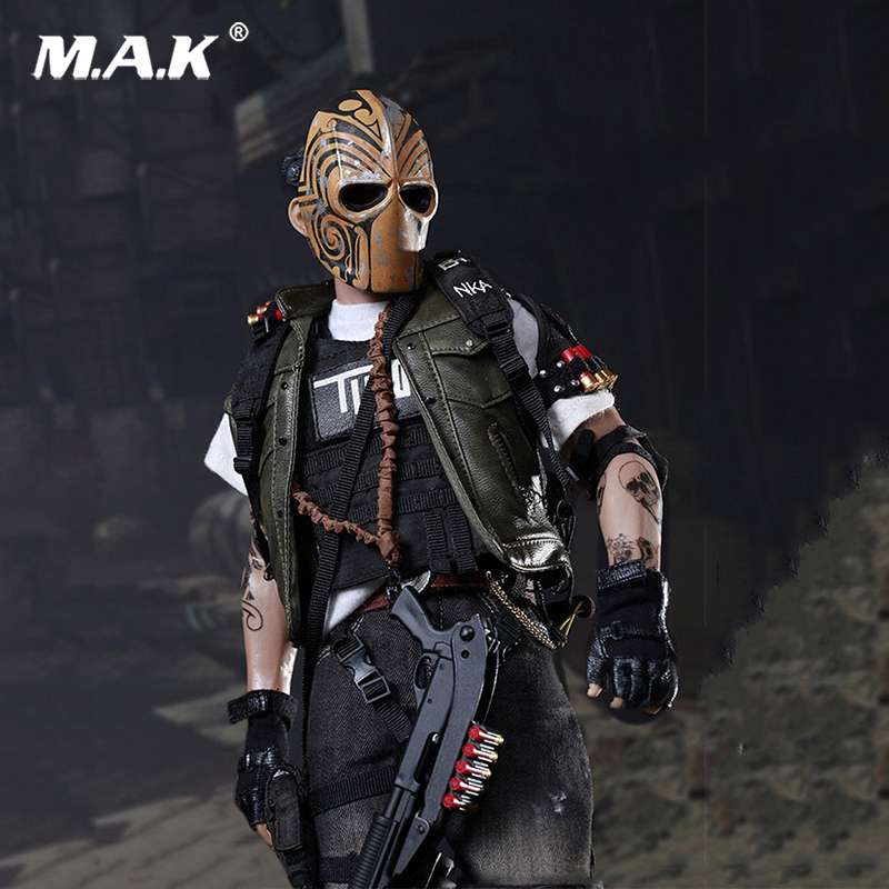 Collection 1/6 1/6 Scale Male Masked Mercenaries 2.0 Action Figure Toy for Collectors Gift For Hobbies