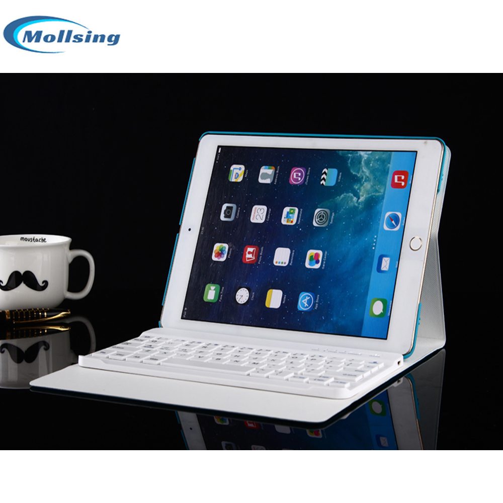 Mollsing For ipad Mini2 Case Wireless Bluetooth Keyboard For iPad Mini 1 2 3 Full Body Protective Portable Keyboard Case  Cover for ipad mini