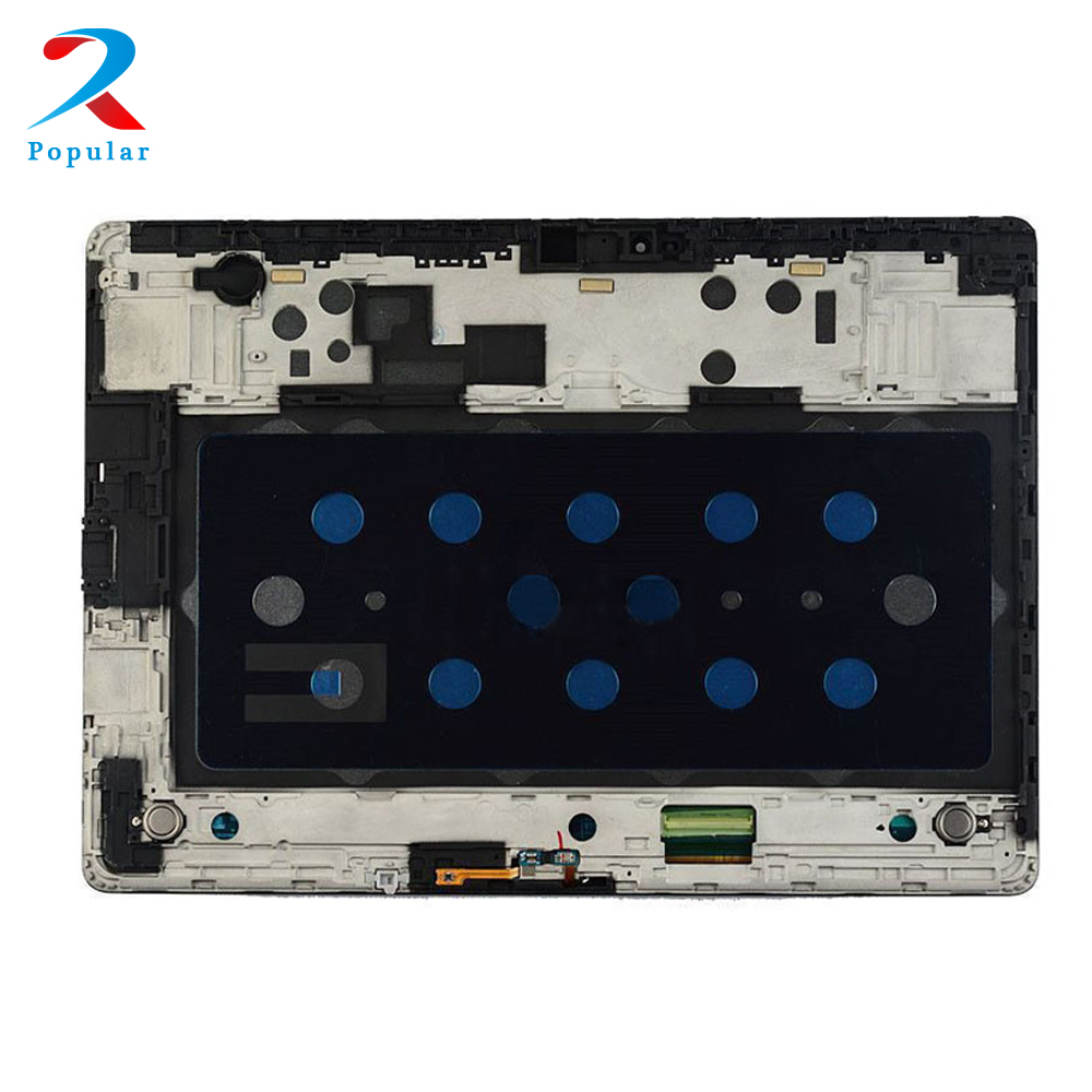 For Samsung GALAXY Tab S T800 T805 Touch Screen Digitizer Sensor Glass + LCD Display Panel Monitor Assembly + Frame цена