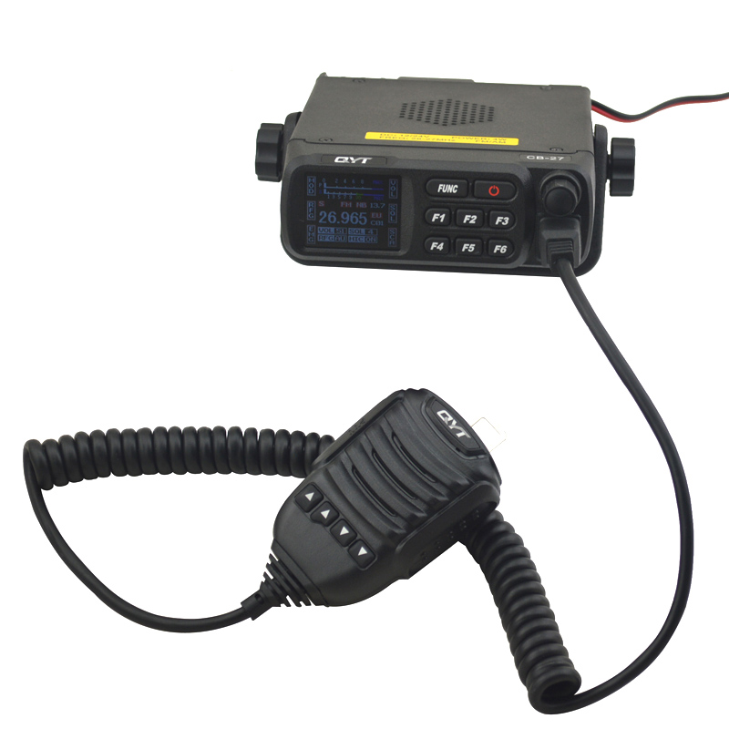 QYT CB-27 CB Mobile radio AM/FM 12/24 4Watts 26.965-27.405MHz CITIZEN BAND ALL European MULTI-NORMS CB Mobile transceiver