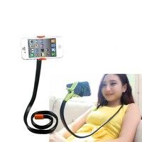 Soporte para teléfono universal largo brazo soporte flexible serpiente forma soporte de escritorio para iphone samsung galaxy huawei xiaomi note teléfono móvil
