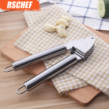 ФОТО free shipping stainless steel kitchen squeeze tool alloy ginge crusher garlic presses press the garlic