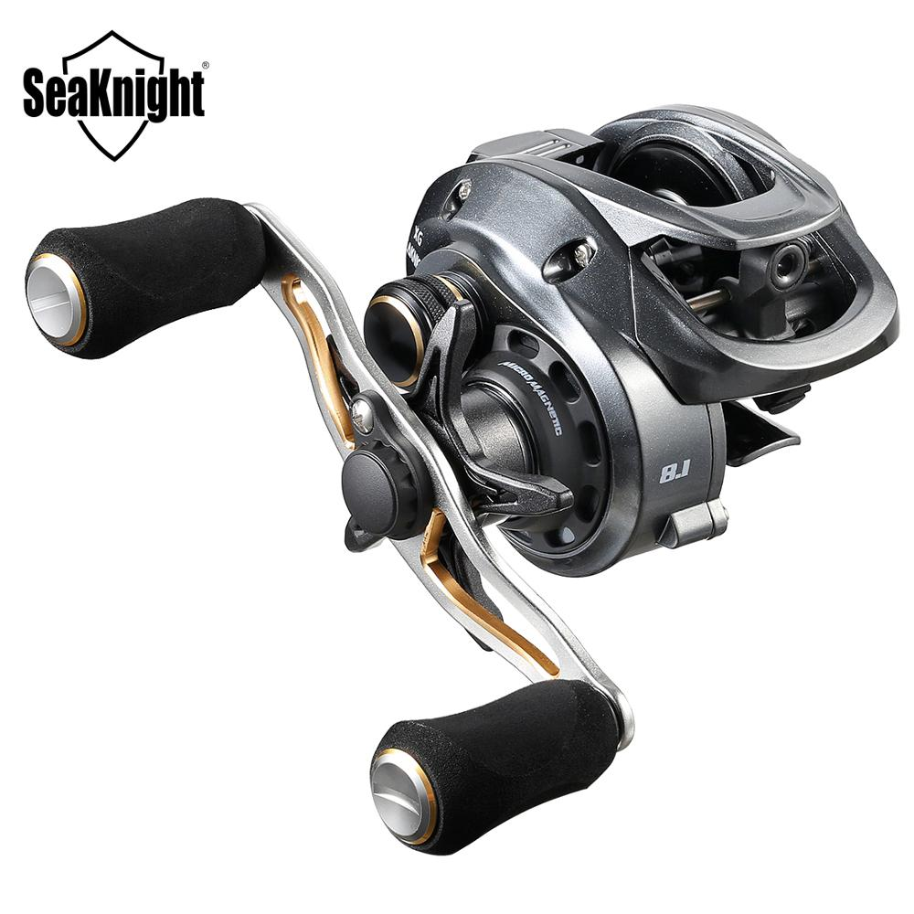 SeaKnight FALCON 7.2:1 8.1:1 High Speed Baitcasting Reel 204g Super Long Casting Fishing Max Drag Power 18LB Carp Fishing Tackle(China)