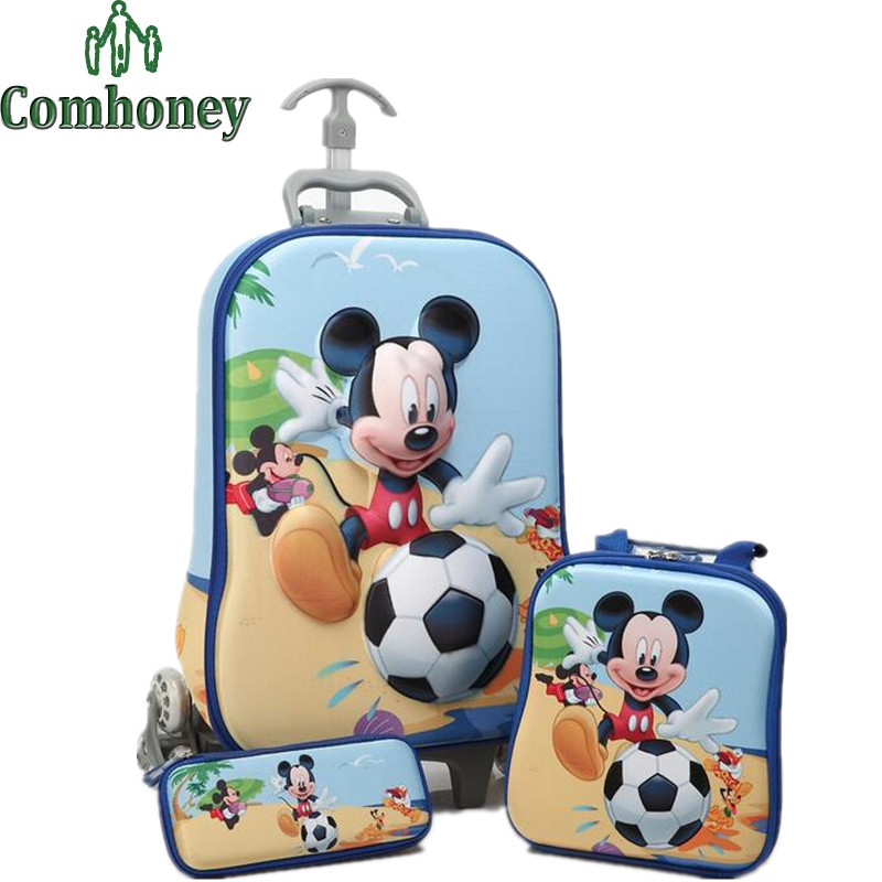 Online Buy Wholesale minnie mouse luggage from China minnie mouse ...