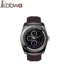 Kobwa 2017 мода смарт часы для iOS android водонепроницаемый Bluetooth mulit функция mulit язык монитор Сердечного Ритма смарт-часы