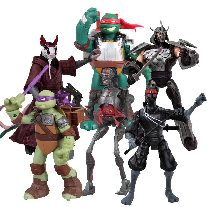 <font><b>6</b></font> Types <font><b>Figure</b></font> <font><b>Teenage</b></font> <font><b>Mutant</b></font> <font><b>Ninja</b></font> <font><b>Turtles</b></font> Out of the Shadows <font><b>Action</b></font> <font><b>Figure</b></font> Toy Set Classic Collection Christmas Toys for Kids
