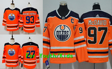 Youth Embroidery Stitched Edmonton  97 Connor McDavid 93 Ryan Nugent-Hopkins  27 Milan Lucic Kids Jersey ca236cc2a