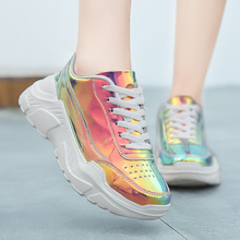 Thestron 2019 Trend Female Sports Sneakers Thick Soled Ladies Trainers Shoes Spring Jogging For Womens Girls Running