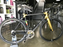 Gold 2018 Colnago C60 Carbon Road complete Bike Bicycle With 5800 R8000 Groupset Carbon 50mm wheelset and other parts cheap Carbon Fibre Male Spring Fork (Low Gear Non-damping) 11kg Ordinary Pedal CARROWTER Hard Frame (Non-rear Damper) Double V Brake