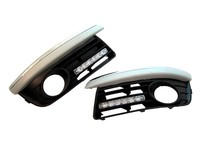 Hot sale One pair Front Fog Light Kit With LED DRL for Jetta MK5