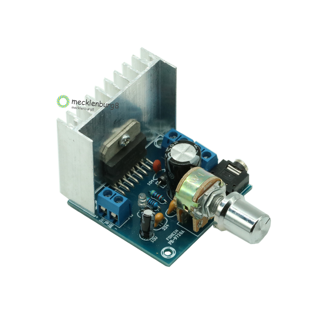 TDA7297 Version B Amplifier Board DC 12V 2x15W Digital Audio Dual-Channel Module 15W +15W Grade 2.0 Finished