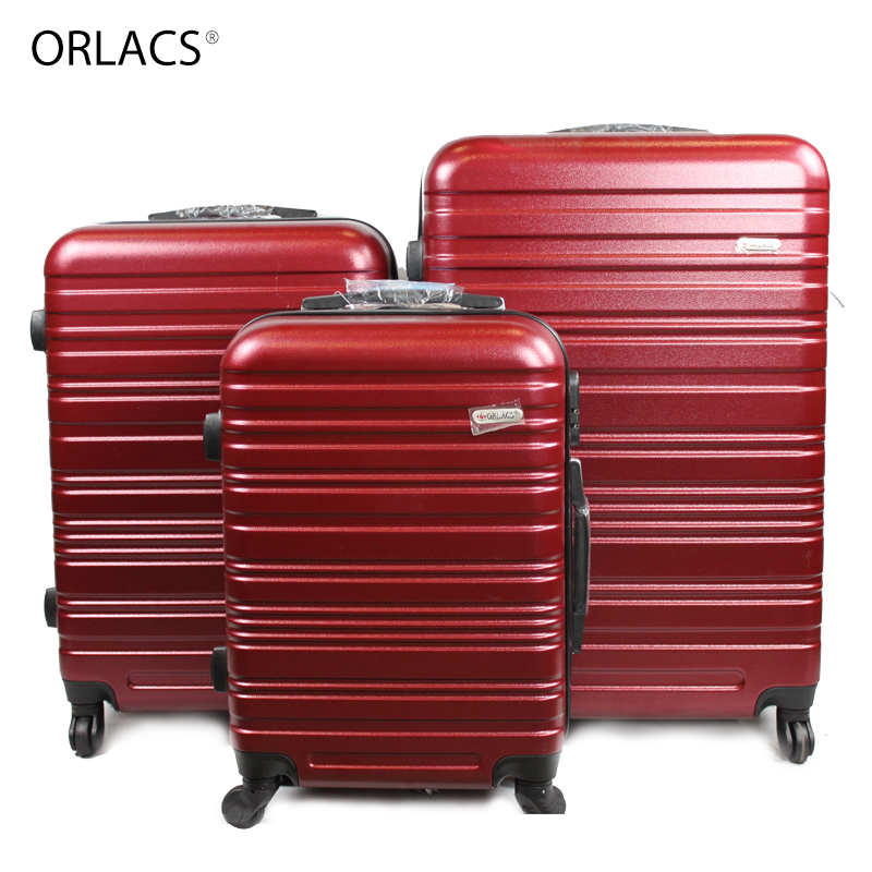 ORLACS Aluminum Alloy Luggage Hardside Rolling Trolley Travel Suitcase Family Suit Carry On Luggage 20