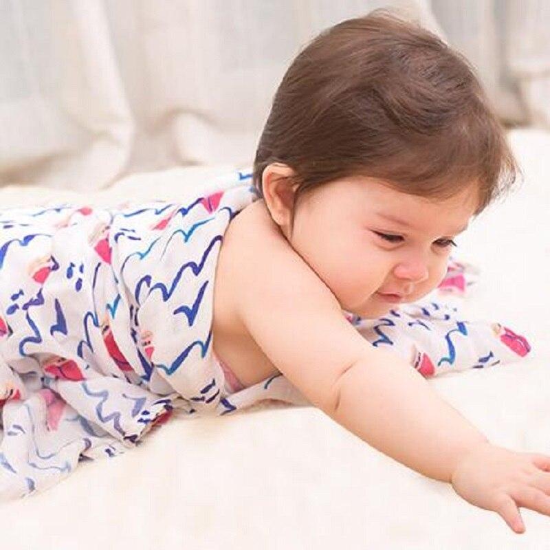 Baby Swaddles Cotton Soft Newborn Blankets Bath Gauze Infant Wrap Sleepsack Stroller Cover Play Mat 1pcs in Blanket Swaddling from Mother Kids