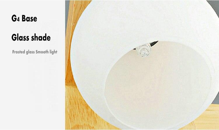 banheiro longa de madeira g4 lampada led 05