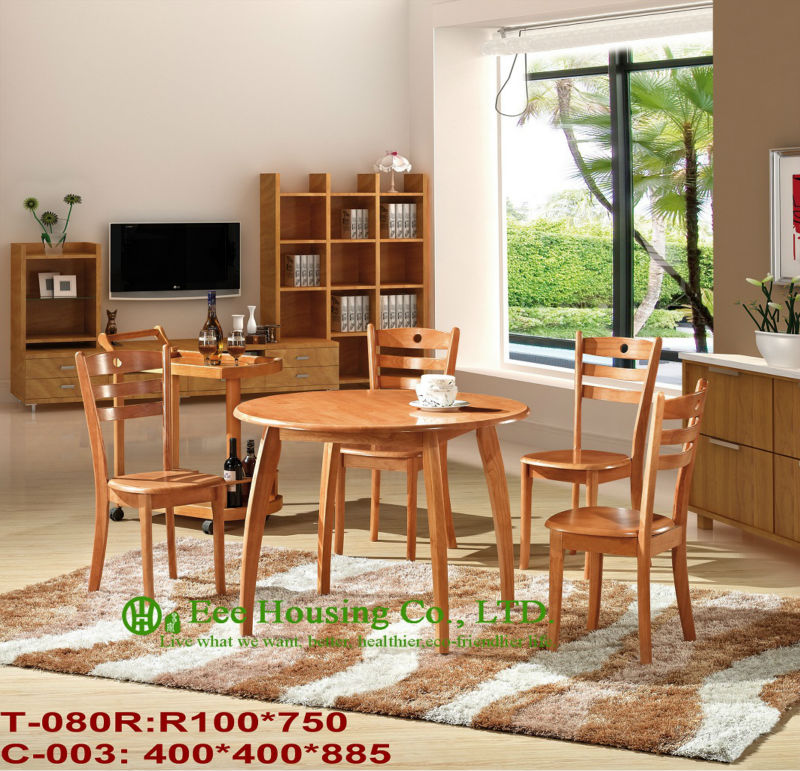 T-080R,C-003    Luxurious Solid Dining Chair,Solid Wood Dinning Table Furniture With Chairs/Home Furniture