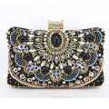Classic Fashion Clutch Bag Diamond Beaded Evening Bag Ladies Wedding Day Clutches Party Purse Banquet Women Bridal Bag X50