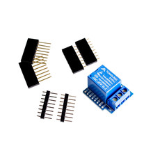 Free shipping 1 channel Relay Shield for Wemos D1 mini Relay Module For Arduino ESP8266 Relay Shield V2