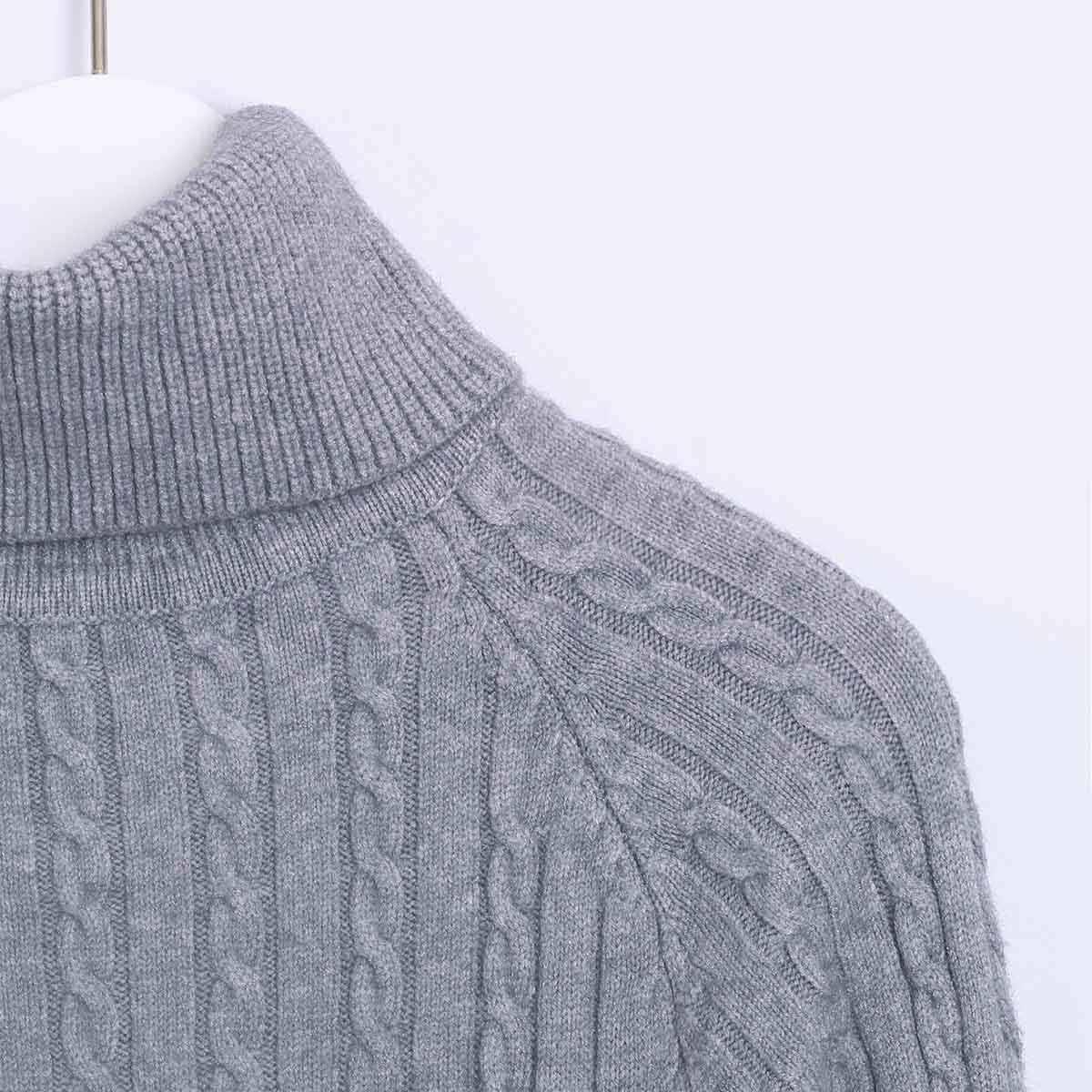 Wixra tricoté robe moulante 2019 automne hiver solide col roulé à manches longues genou longueur pull robes