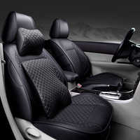 Spezielle Leder autositzbezüge Für Volkswagen vw Skoda Toyota Subaru BMW Kia Nissan Volvo Mazda etc. alle auto modell zubehör