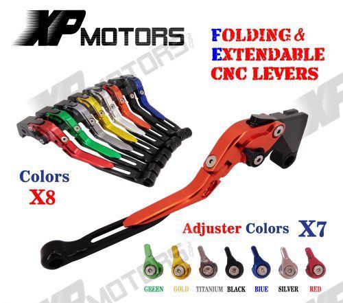 CNC Folding & Extending Brake Clutch Lever For Buell XB12R XB12SS XB12SCG 2009 X1 Lightning 98-02 S1 97-98 M2 Cyclone 97-02 billet extendable folding brake clutch levers for buell m2 cyclone 1200 s1 x1 lightning xb 12 12r 12scg 12ss 97 98 99 00 01 02