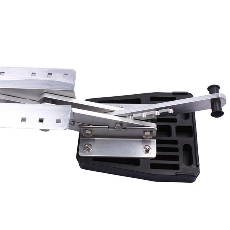 Heavy Duty Aluminum Outboard2 Stroke Kicker Motor Bracket 7.5hp-20hp цены
