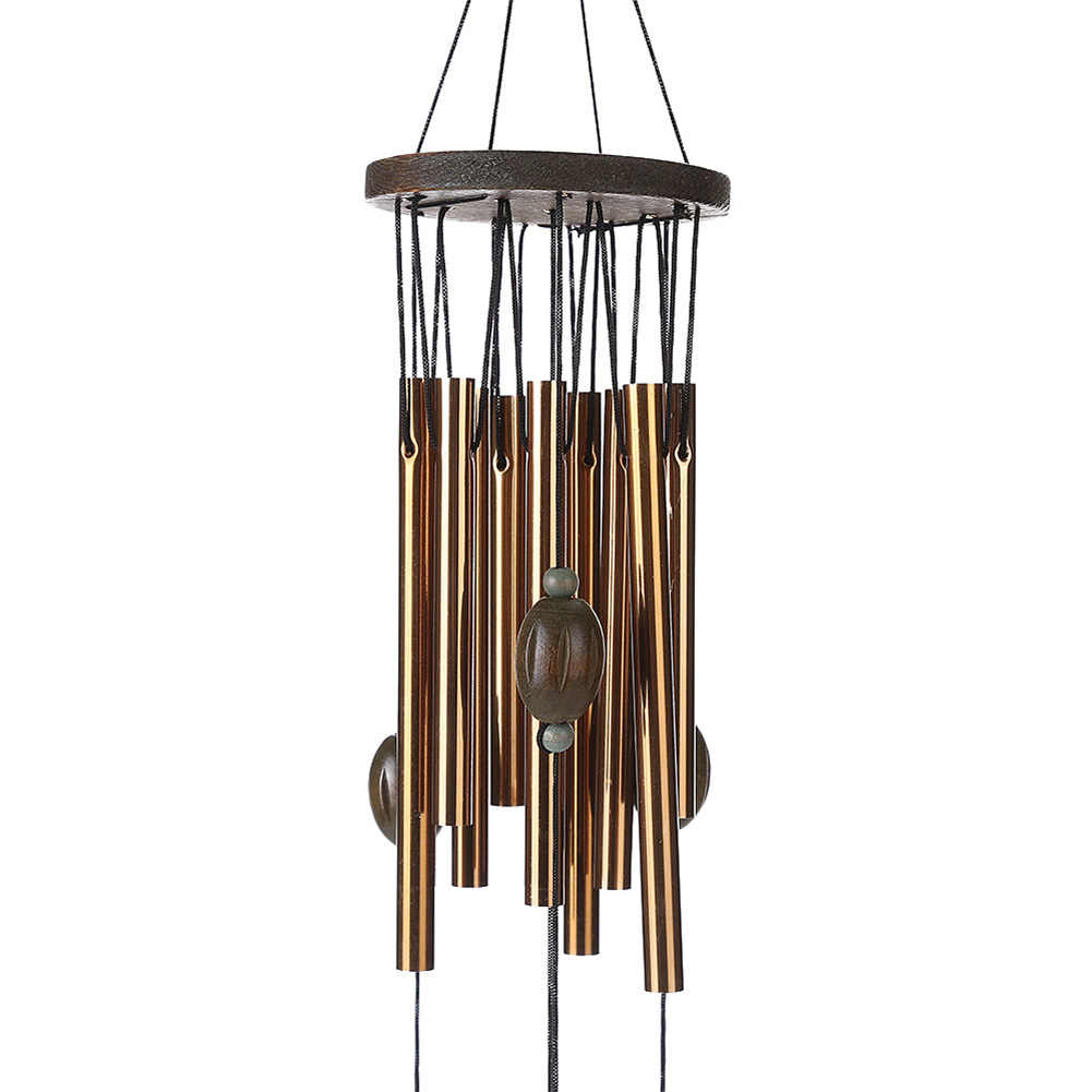 62 Cm Antirust Tembaga Lonceng Angin Outdoor Living Yard Tabung Bells Dekorasi Taman Logam Windchimes