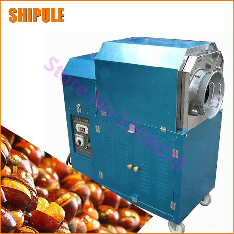 SHIPULE 2017 new products factory price commercial industrial gas chestnut roasting machine chestnut roaster for sale цена и фото