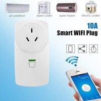 10A Wifi Intelligente AU Plug Power Presa Telecomando Senza Fili Intelligente presa Del Telefono App Controllo Wifi Casa Intelligente Presa Timer Vendita Calda