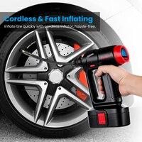 2019 Digital Tire Inflator DC 12 Volt Car Portable Air Compressor Pump 160 PSI Car Air Compressor Inflatable Pump