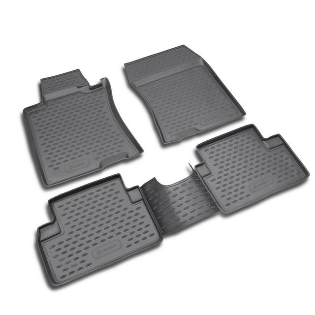 коврики для авто для HONDA Accord 2003-2007,коврики в машину aвтомобильные аксессуары ковер,4 шт. (полиуретан)