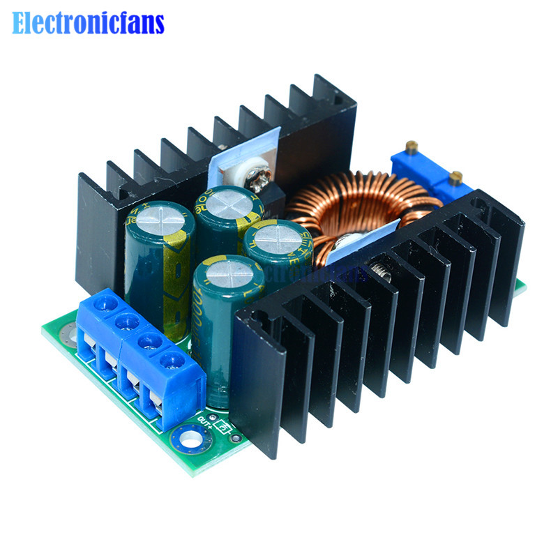 <font><b>DC</b></font>-<font><b>DC</b></font> 0.2- 9A <font><b>300W</b></font> Step Down Buck Converter XL4016 Adjustable 5-40V To 1.2-35V Power Supply Module LED Driver for Arduino image
