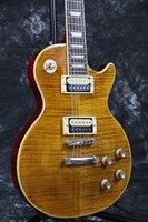 Instock Starshine SR LLP 021 Standard Slash Signature Electric guitar flamed maple top Zebra wood pickups cusotmzied guitar