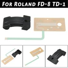 Electric drum Drum Accessories Sheet Sensor Pedal Rubber Actuator Replacement Part Fits For Roland FD-8 TD-1 Hi Hat Pedal Rubber цена 2017