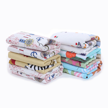 Cartoon Cotton Diaper pad Baby Waterproof Mat Large Baby Mat Cover Infant Urine Pad Mattress Sheet Protector Bedding YYT305